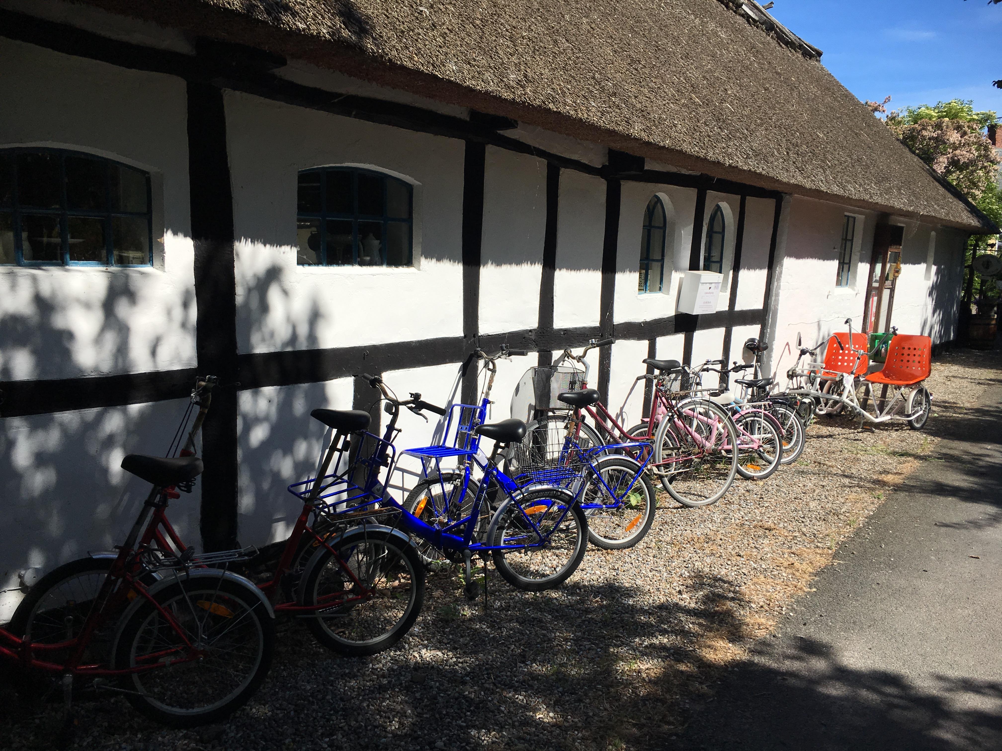 Cykler ved Gl. Elmegaard