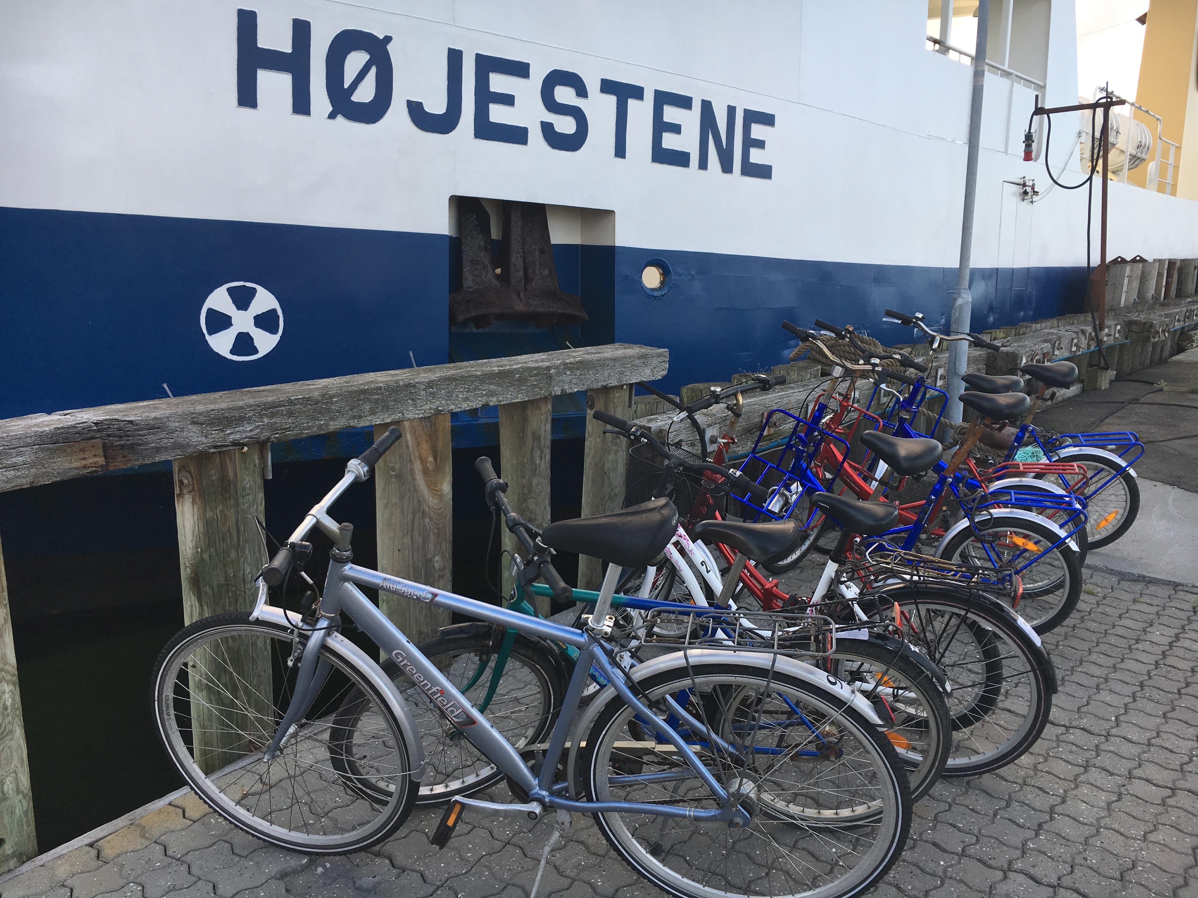 Cykeludlejning ved Færgen