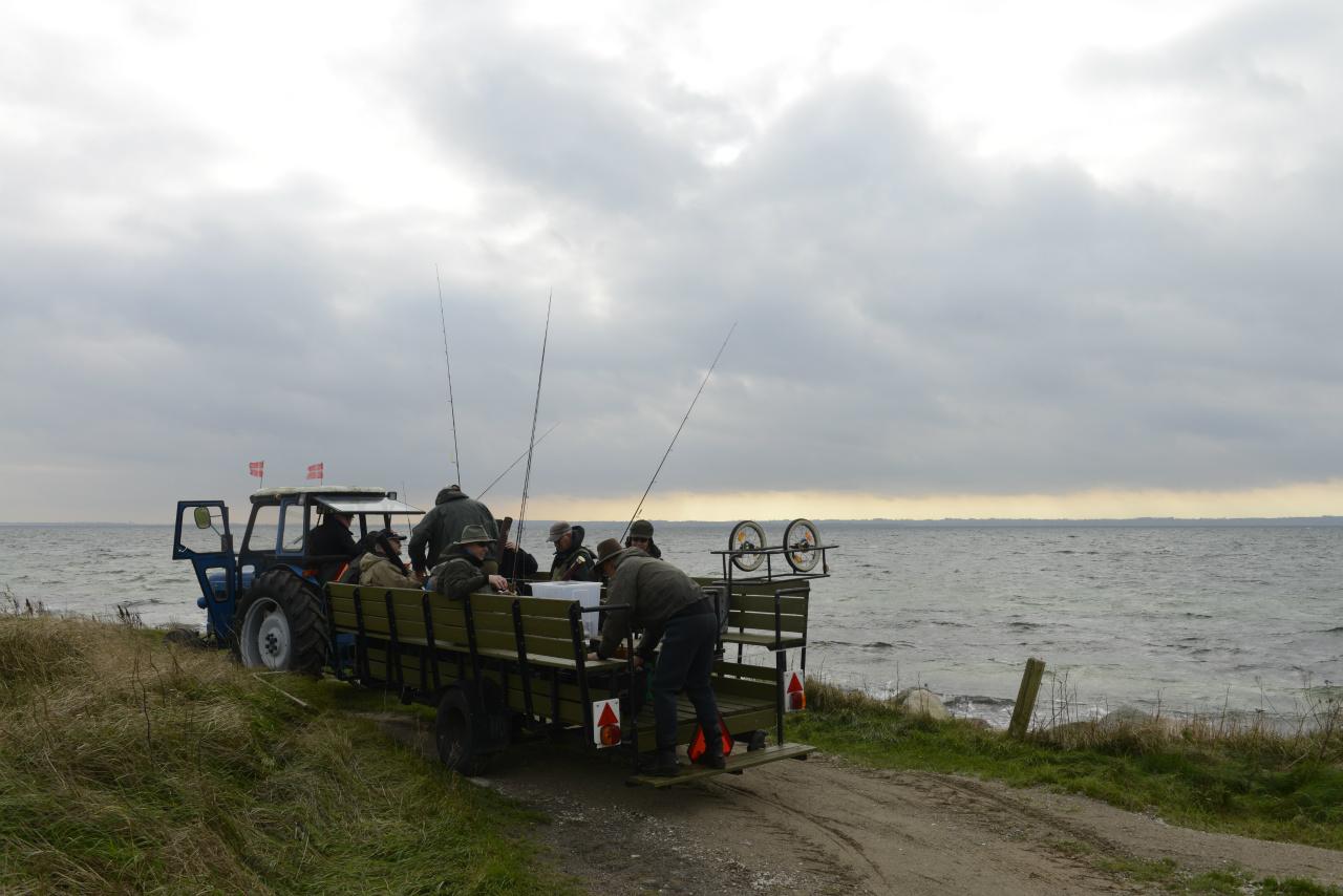 Arrangere fisketur